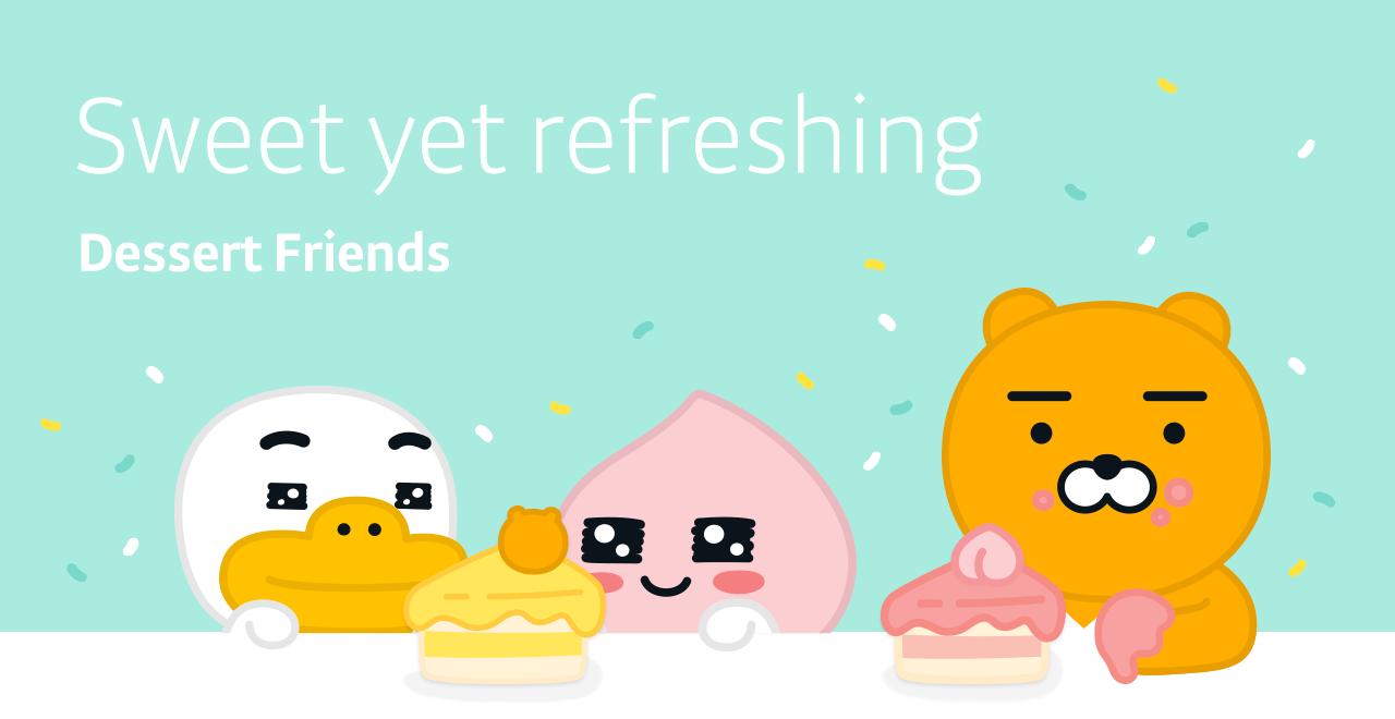 Sweet yet refreshing Dessert Friends - Dessert Friends