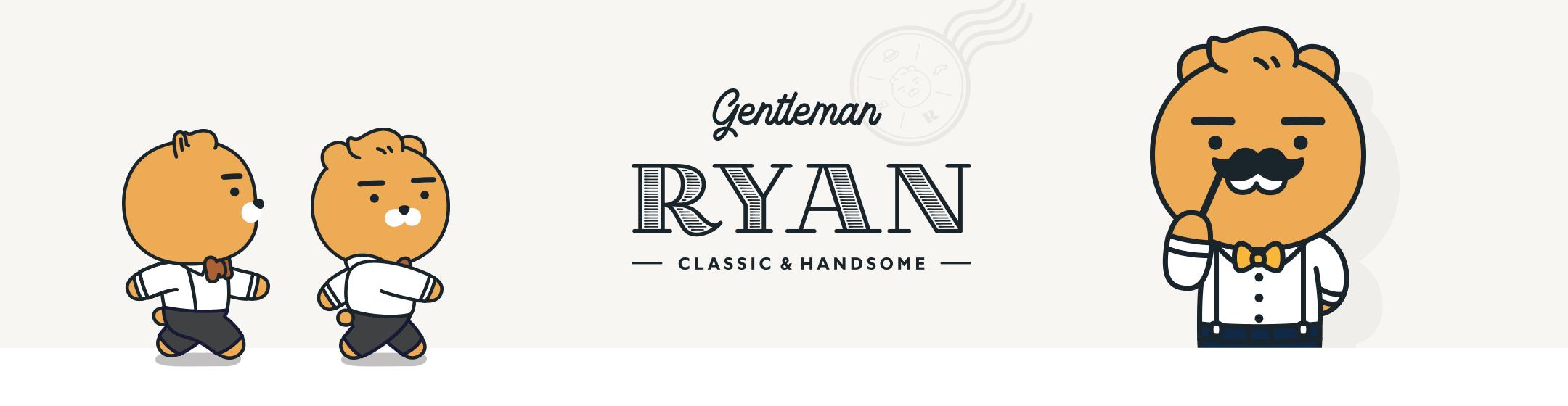 gentleman RYAN - CLASSIC & HANDSOME