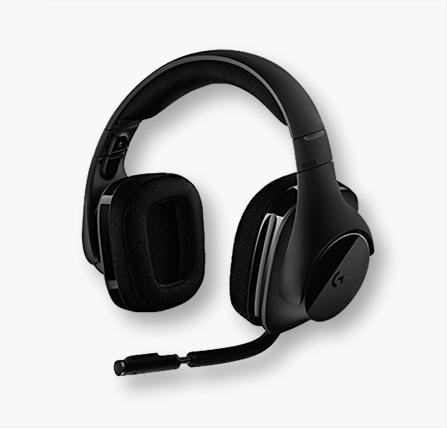 로지텍 G533 Wireless DTS 7.1 헤드셋