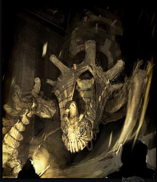 고대인의 석실을 지키는 수호병기 '스파이크'
