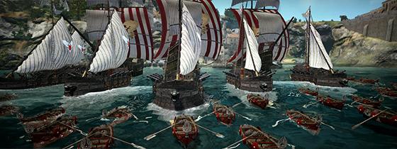 마고리아 해양의 선박들