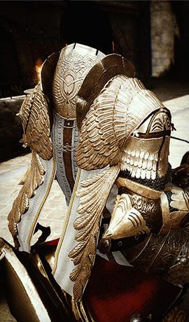 든든한 아타니스 갑옷의 워리어 by [블라칸]