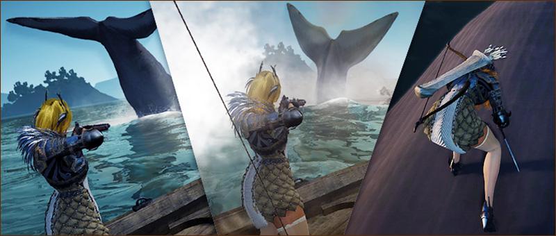 대왕 고래 수렵 시스템 업데이트